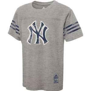 New York Yankees Youth adidas Grey Vintage Name Plate T