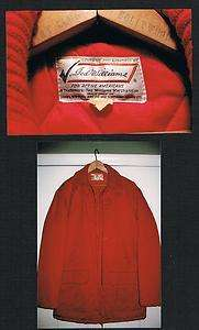 Ted Williams hunting jacket Boston Red Sox baseball HOF hall of famer