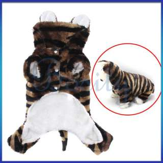 Pet Dog Cute Animal Clothes Coat Hoodie Jumpsuit Party Favor Apparel