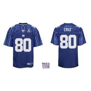 NEW York Giants #80 Victor Cruz Jersey Authentic Blue /NFL Jersey Size