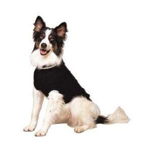 Fashion Pet Classics Black Cable Dog Sweater