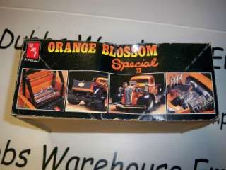 ERTL AMT ORANGE BLOSSOM SPECIAL II Model monster truck hot rod