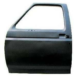 FD80033AL Ford Primed Black Replacement Driver Door Shell Automotive