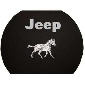 SpareCover® Brawny Series   Jeep® 30 Zebra Tire Cover