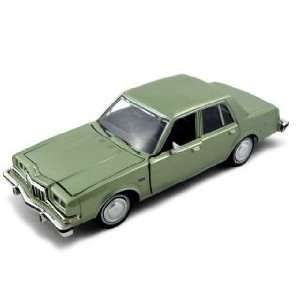 1986 Dodge Diplomat Salon American Graffiti Diecast Car