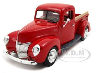 brand new 1 24 scale diecast model of 1940 ford pickup truck