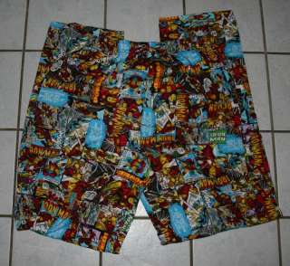 NEW Mens IRON MAN Comic Lounge Pants ~Var Sizes~
