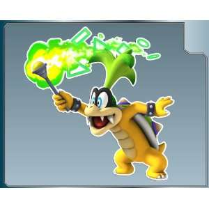 IGGY KOOPA Jr. from Super Mario Bros. vinyl decal sticker