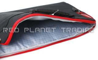 New Dell 15.6 Black/Red Laptop Carry Case Sleeve HJ94H