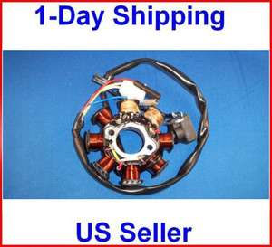 Magneto 8 Pole Stator Coil 125 150cc GY6 ATV Engine Part Scooter Quad
