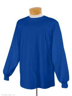 Jerzees Mens Heavyweight Blend L/S T Shirt Any Sz/Color