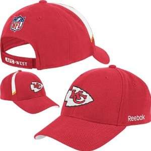 Kansas City Chiefs NFL Reebok Coaches Adjustable Hat