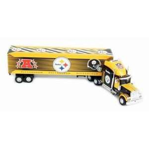 2004 Upper Deck NFL Tractor Trailers   Steelers Sports