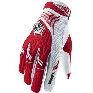 2011 Shift Racing Faction Gloves   Red   9 (Medium) Automotive