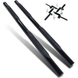 Satin Black Side Step Nerf Bars  Honda CRV 2002   2006 Automotive