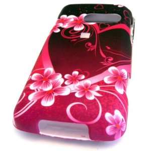 510 Banter Touch Rumor Touch Red Hawaii Flower Design Virgin Mobile US