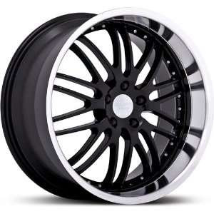 RUFF RACING WHE R281 BLACK/MACHINE 5X4.5 +35   19X8.5