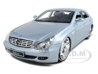 MERCEDES CLS CLASS CUSTOM SILVER 118 DIECAST MODEL CAR