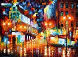 Contemporary Canvas art oil painting Palette Knife paintings Home