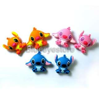 Cartoon Pink Stitch USB 2.0 Flash Memory Pen Stick Drive Real capacity