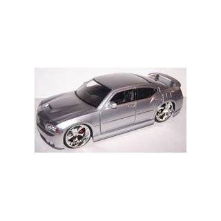 Scale Diecast Big Time Muscle 2006 Dodge Charger Srt8 in Color Silver