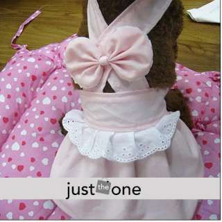 Pet Dog cute Apparel Clothes Dress Skirt M pink new