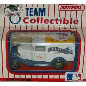 Seattle Mariners 1990 Matchbox/White Rose MLB Diecast Ford