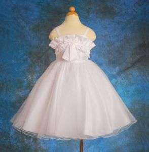 Flower Girl Pageant Party Occasion Dress Size Toddler 2T 3T 035