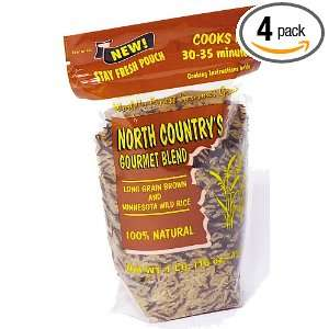 North Country Gourmet Blend Southern Brown & Wild Rice, 16 Ounce Bags