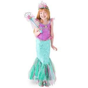 Princess Ariel Mermaid Costume Small 5 6
