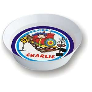 Pen At Hand Stick Figures   Melamine Bowls (Train)