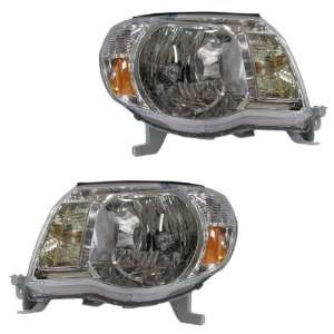 05 11 Toyota Tacoma Pickup Truck Headlights Headlamps Head