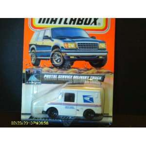 #97 of 100 Postal Service Delivery Truck Matchbox Toys