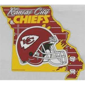 NFL Kansas City Chiefs State Sign