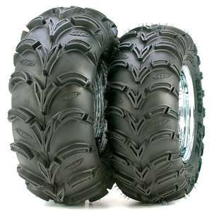 ITP Mud Lite 25x8x12 Front Rear 6 Ply ATV Tire Black