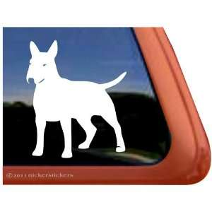 English Bull Terrier Vinyl Window Auto Decal Sticker