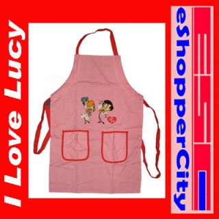 Love Lucy Kitchen Apron New Design Stick Figure