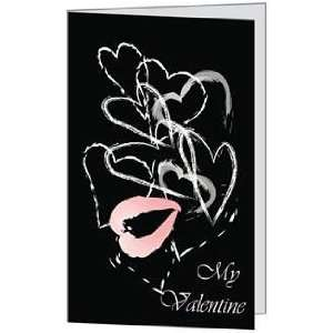 Valentines Day Love You Spouse Husband Hearts Wife Greeting Card (5x7