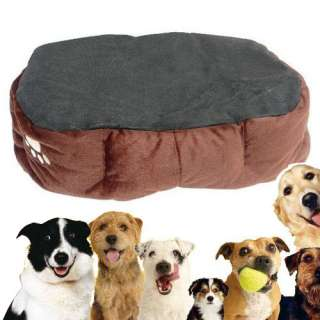 Warm Round Unique Soft Pet Dog Cat Puppy Bed USPS SHIPPING