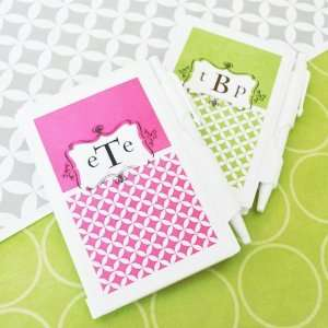 Mod Monogram Personalized Notebook Favors Toys & Games