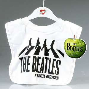 The Beatles Abbey Road Bib ~ White Baby