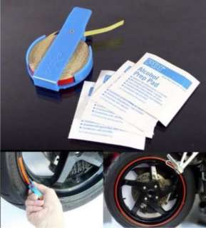 CAR/MOTORCYCLE Wheel Rim Pin Stripe PINSTRIPING TAPE Kit 6mm