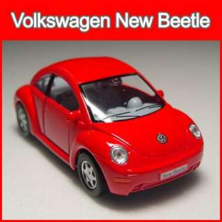 Volkswagen New Beetle Diecast Model Car 132 Kinsmart