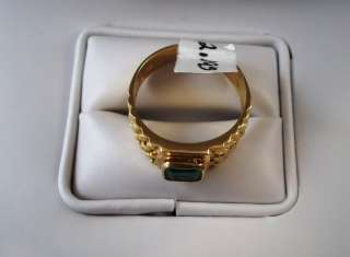 Tested 18KT Yellow Gold Ladys Ring Size 10