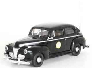 Maine State Police Trooper 1941 Ford FIRST RESPONSE