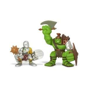 Hulk Super Hero Squad Figures   Planet Hulk and Silver