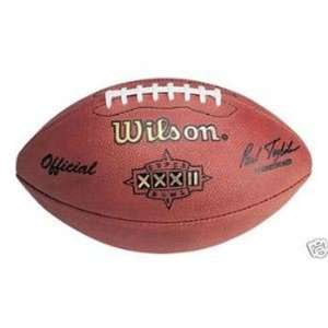 Super Bowl 32 XXXII Wilson Official NFL Game Football