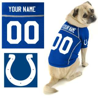 Indianapolis Colts Custom Pet Jersey Hunter Indianapolis Colts Custom