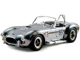 SHELBY COLLECTIBLES DC42708 CHROME 118 1965 SHELBY COBRA S/C 427