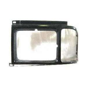89 91 FORD AEROSTAR HEADLIGHT DOOR LH (DRIVER SIDE) VAN, Black (1989